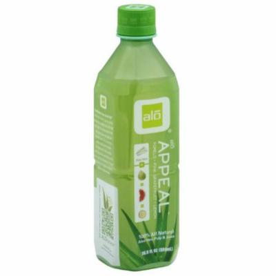 ALO Aloe Vera Pulp & Juice, Appeal, 16.9 Fluid Ounce (Pack of 6)