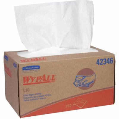 WypAll L10 White Utility Wipes, 250 sheets