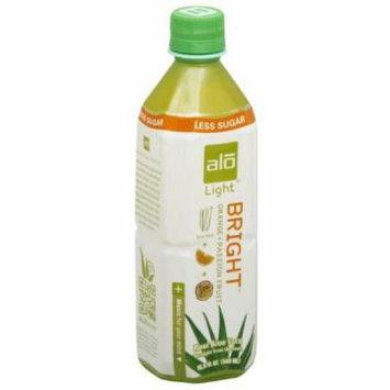ALO Aloe Vera, Light, Bright Orange + Passion Fruit, 16.9 Fluid Ounce (Pack of 6)