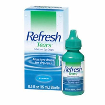 Refresh Tears Lubricant Eye Drops 0.5 % 15 Ml, 2 Ea
