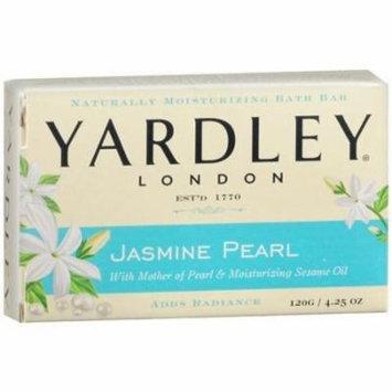 Yardley Of London Bath Bar Jasmine Pearl Soap - 4.25 Oz, 2 Pack