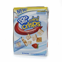 Kellogg's Pop-Tarts Mini Crisps Frosted Strawberry Toaster Pastries