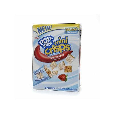 Kellogg's Pop-Tarts Mini Crisps Frosted Strawberry Toaster Pastries