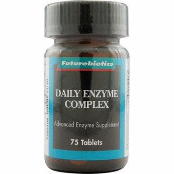 Futurebiotics Daily Enzyme Complex Tablets - 75 Ea