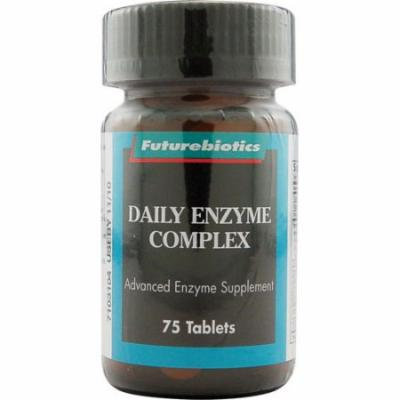 Futurebiotics Daily Enzyme Complex Tablets - 75 Ea