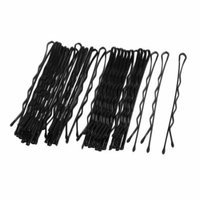 28 Pcs Black Metal Ponytail Updo Hairstyle Bobby Pin Hair Clip Holder 6cm