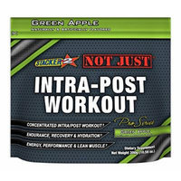 Stacker 2 Not Just Intra-Post Workout Pro-Series Energy Pouch, Green Apple, 300 Gram
