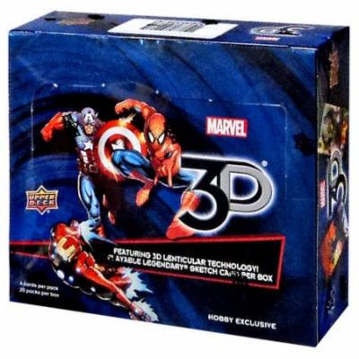 Marvel 3D Trading Card Hobby Box
