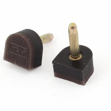 Lady Shoes Repair High Heel Tips Tap Pin Lift Stiletto Dowel 11mmx11mm Pair