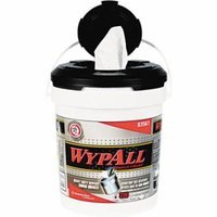 WypAll* Wipers in a Refillable Bucket, 220 count