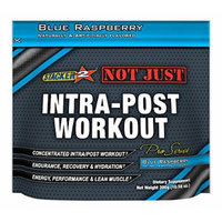Stacker 2 Not Just Intra-Post Workout Pro-Series Energy Pouch, Blue Raspberry, 300 Gram