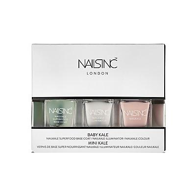 NAILS INC. Nails inc Baby Kale Collection 3 x 0.17 oz