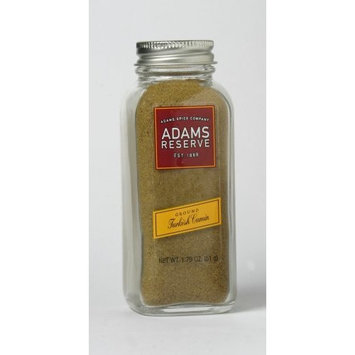 Adams Extracts Cumin, Turkish, Ground, 1.79-Ounce Glass Jar (Pack of 6)