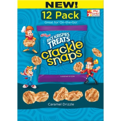 Kellogg's® Rice Krispies RKT Caddy Crackle Snaps Caramel Drizzle