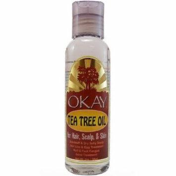Okay Tea Tree Oil for Hair, Scalp & Skin, 2 oz