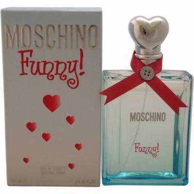 Moschino Funny for Women Eau de Toilette, 3.4 oz