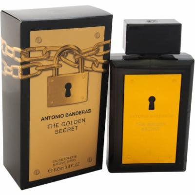 Antonio Banderas The Golden Secret EDT Spray, 3.4 fl oz