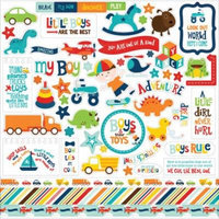 Little Man Cardstock Stickers 12