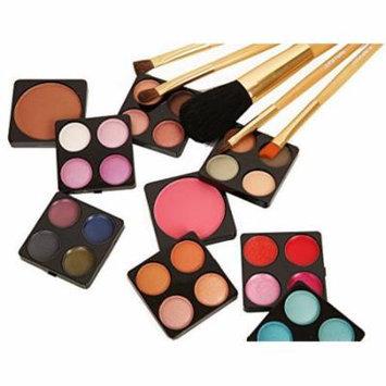 Ivation Makeup Kit - 36 Pc Set Including Eyeshadow, Blusher, Lip Gloss and Brush Set