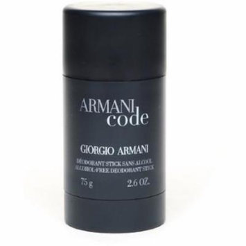 Armani Code Alcohol Free Deodorant Stick 2.6 Oz By Giorgio Armani