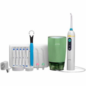 Jetpik JP50 Elite Rechargeable Electric Dental Flosser With Pulsating Floss, Water Jet Power