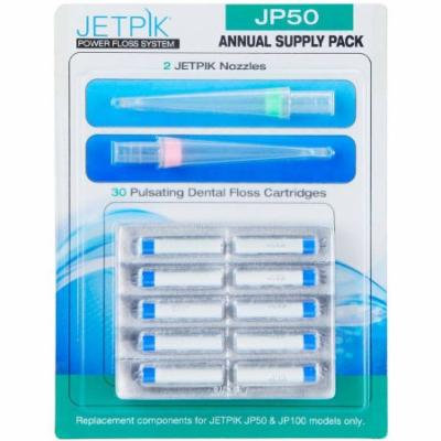 Jetpik JP50 Power Floss System Annual Supply, 32 pc