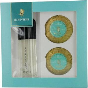 Je Reviens Set-Edt Spray 1.7 Oz & Perfumed Soap 2 X 2.6 Oz By Worth