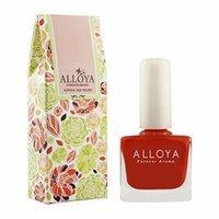 Alloya Natural Non Toxic Nail Polish, Water Based, 018 On fire