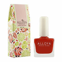 Alloya Natural Non Toxic Nail Polish, Water Based, 018 On fire
