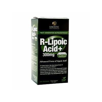 Genceutic Naturals R-Lipoic Acid, Veggi Caps 60 ea