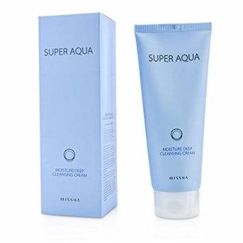 Missha Super Aqua Moisture Deep Cleansing Cream 200ml/6.7oz
