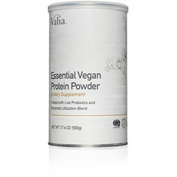 Valia - Essential Vegan Protein Powder (Soy Free, Whey Free, GMO Free, & Certified Organic)