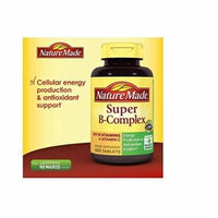 Nature Made Super B Complex Tablets,Super Value Size, 460 Tablets
