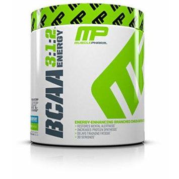 Muscle Pharm BCAA Energy Powder, Blue Raspberry, 0.51 Pound