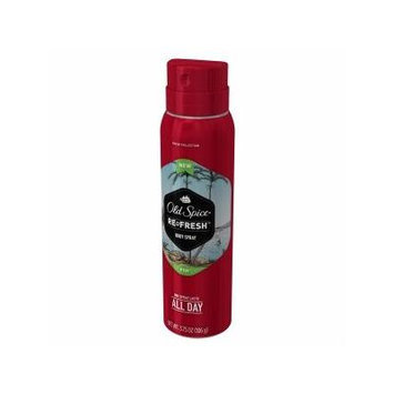 Old Spice - Fresh Collection Re-Fresh Deodorant Body Spray, Fiji - 3.75 oz