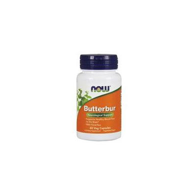 Now Foods Butterbur, 60 Vcaps 75 mg (Pack of 2)