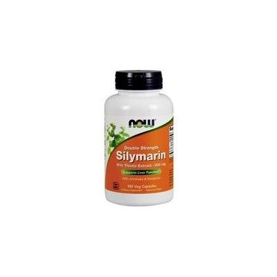 Now Foods Silymarin, 2X 100 Vcaps 300 mg (Pack of 2)