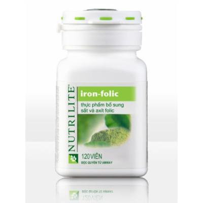Amway Nutrilite Iron - Folic, 01 Box X 120 Tablets