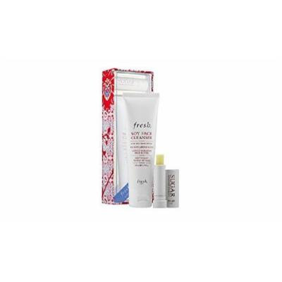 fresh Obsessions Set with Soy Face Cleanser and Sugar Advanced Therapy