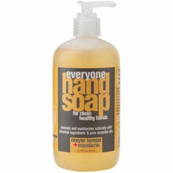 Bulk Saver Pack 4x12.75 FZ: EO Products Everyone Hand Soap - Meyer Lemon and Mandarin
