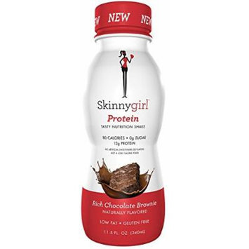 Skinnygirl Protein Shakes, Chocolate Flavor, 11.6 Oz (Pack of 12)
