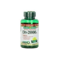 Nature's Bounty Super Strength D3-2000iu, 150 Softgels (Pack of 3)