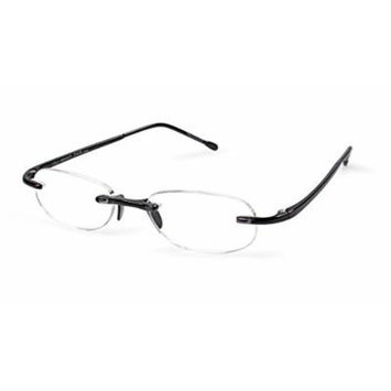 Scojo Gels Reading Glasses (Midnight, +3.00 Magnification Power)