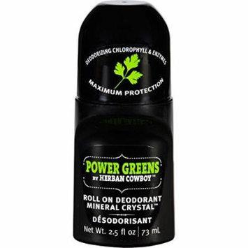 Deodorant Roll On Power Greens 2.50 Ounces
