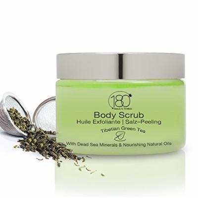180 Cosmetics Tibetian Green Tea Body Scrub with Dead Sea Salt and Natural Oils