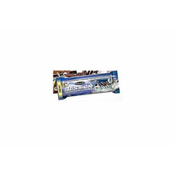 Muscletech Mission Clean Protein Bar, Cookies & Cream, 4 Bars (Pack of 2)