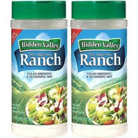 Hidden Valley Original Ranch Seasoning and Salad Dressing Mix, Two 8 Ounce Canisters (16 Ounces Total)