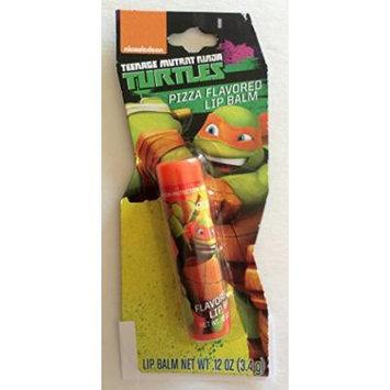Nickelodeon TMNT Teenage Mutant Ninja Turtle Pizza Flavored Lip Balm - Michelangelo / Orange Mask