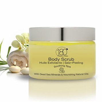 180 Cosmetics Salt and Oil Body Scrub Soothing SPA, Nourishing and Exfoliating Dead Sea Salt -