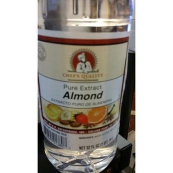 Chef's Quality: Pure Almond Extract 32 Oz (6 Pack)